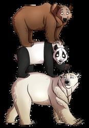 We Bare Bears Realistic? by NamyGaga