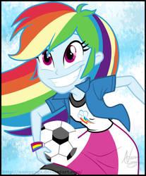 EGRR Credits: Rainbow Dash by NamyGaga