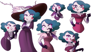 My Waifus pack_Eclipsa Butterfly by NamyGaga