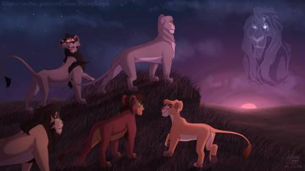 Scar's descendants - AU by NamyGaga