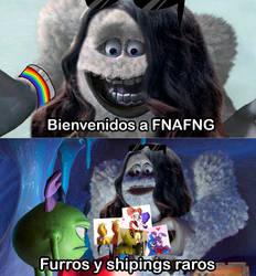 Bienvenidos a FNAFNG Meme by NamyGaga