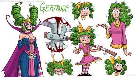 Gertrude Sketch (IHF) by NamyGaga