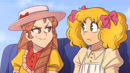 Actual Anime_Candy and Eliza 1 by NamyGaga