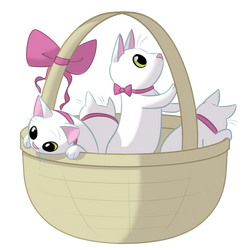 Basket Of Kittens by CassieThomas