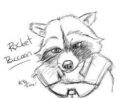 Rocket Raccoon! by kosko99