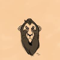 Scar - Sketch by kosko99