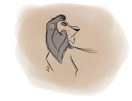 [sketch] Scar by kosko99