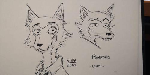 Beastar's Legosi by kosko99