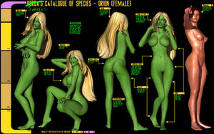 Catalogue of Species - The Orion by Sailmaster-Seion