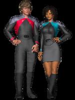 New Uniforms Take 3 by Sailmaster-Seion