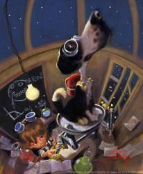 Laboratory Dog by tomfluharty