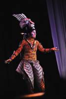Scar - Lion King Musical SDCC Masq 2012 by temperance