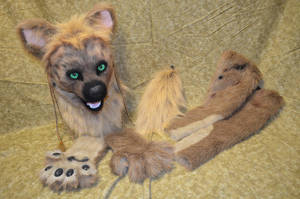Hyena Partial For sale! by temperance