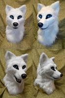 Nagi Wolf Head by temperance