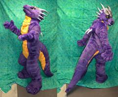 Saber Dragon - sans wings by temperance