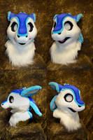 Jester the Avali Head by temperance