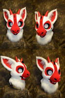 Full House Dutch Angel Dragons - Spades Head by temperance