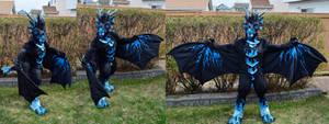 Storm Dragon the Wyvren by temperance