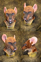 Tiptoe the Rat Head by temperance