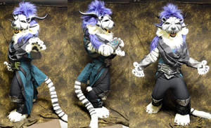 Male Charr with armour - Guild wars by temperance