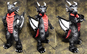 Larvagandor the Dragon by temperance