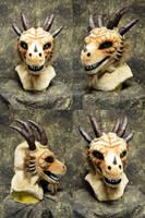 Chronosdormu the Dragon Head by temperance