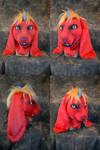 Zelas the Demon Bunny Head by temperance