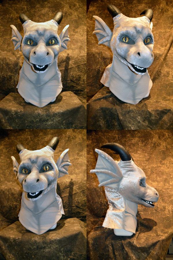 Dellar the Dragon Head by temperance