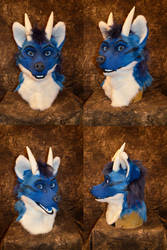 Intel the Wolf Dragon Head by temperance