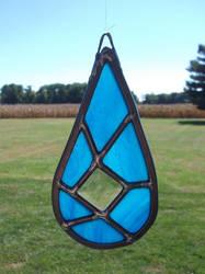 Sea blue teardrop by glasslinger