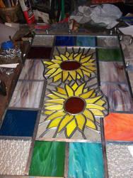 Sunflowers update by glasslinger