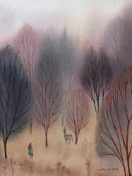 November Woods by ullakko