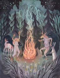 Bonfire by ullakko
