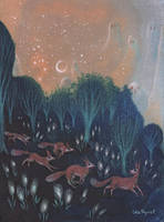Night of the Foxes by ullakko