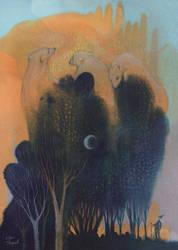 Forest of Endless Sleep by ullakko