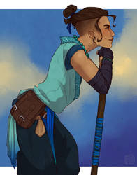 [Critical Role] Beau by hes-per-ides