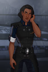 [ME] Indrani Shepard 2018 by hes-per-ides