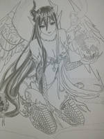 Random Anime Girls 9 (W.I.P) by LutviTheSquirrel