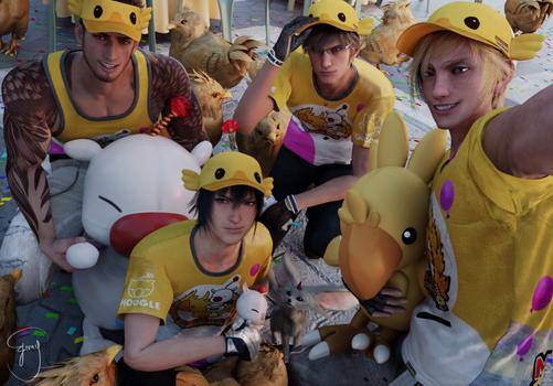 Moogle Chocobo Carnival! by Emy-san