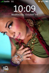 My iPhone Lockscreen by eVision
