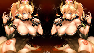 Bowsette V2 by SowhDesign by SowhDesign