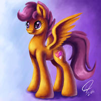 Scootaloo by RainDashDragon