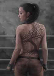 Mathilde - Tattoo by 1Enary1