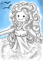 Cloud princess by CelestialTea96