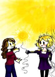 Spread a little sunshie by CelestialTea96