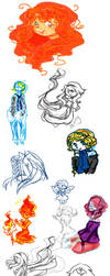 Doodle dump thing by CelestialTea96