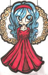 Red dress by CelestialTea96