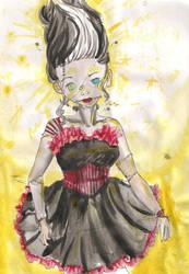 Frankenstein's bride by CelestialTea96