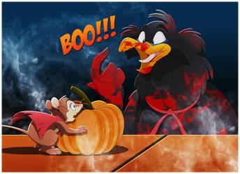NIMH: Jeremy's Halloween Scare by BrisbyBraveheart