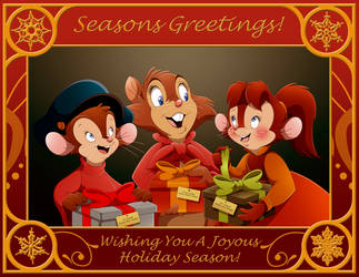 NIMH x AAT: Seasons Greetings by BrisbyBraveheart